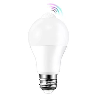 LAMPARA LED SENSOR MOVIMIENTO 9W FRIA