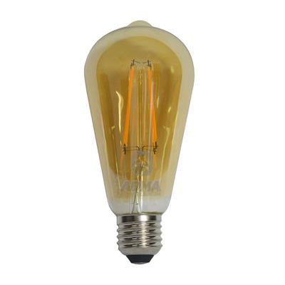 LAMPARA LED 8W ST64 E27 DORADO DIMERIZABLE YARLUX