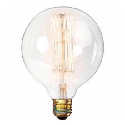 LAMPARA GLOBO G125 FILAMENTO CARBONO 25W E27 INTERELEC