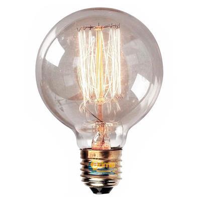 LAMPARA GLOBO G95 FILAMENTO CARBONO 25W E27 INTERELEC