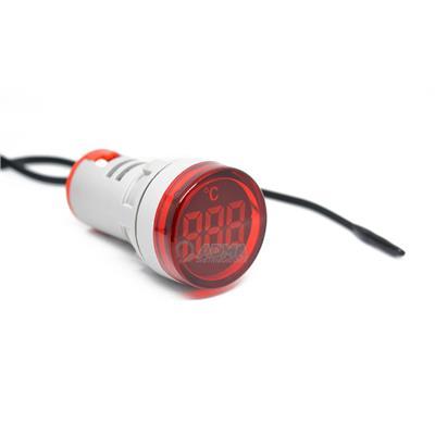 MINI TERMOMETRO DIG Ø29 -20 199°C ROJO