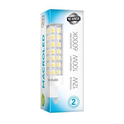 BIPIN LED G9 12W MACROLED 220V FRIO