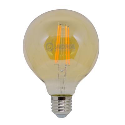 LAMPARA LED VINTAGE G95 8W ULTRA CALIDA