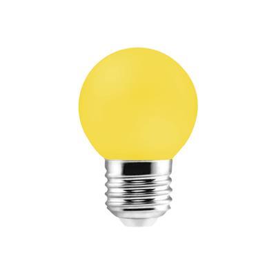 LAMPARA LED GOTA 1W E27 AMARILLA ETHEOS
