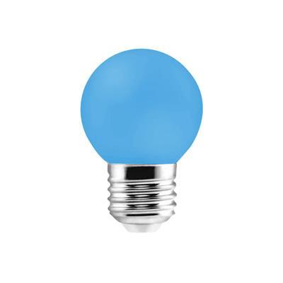 LAMPARA LED GOTA 1W E27 AZUL ETHEOS