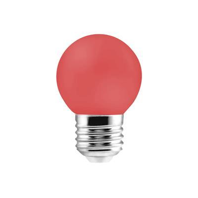LAMPARA LED GOTA 1W E27 ROJA ETHEOS
