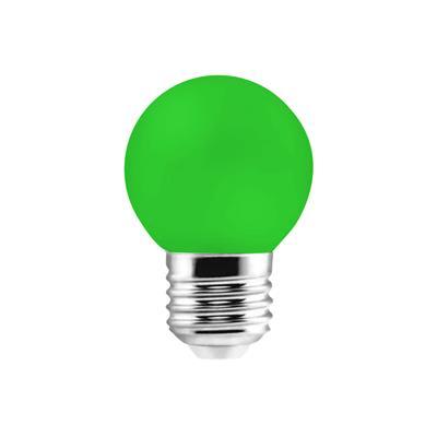 LAMPARA LED GOTA 1W E27 VERDE ETHEOS