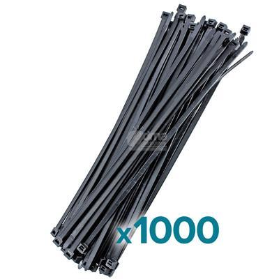PRECINTOS 3,6MM X 300MM BOLSA X1000
