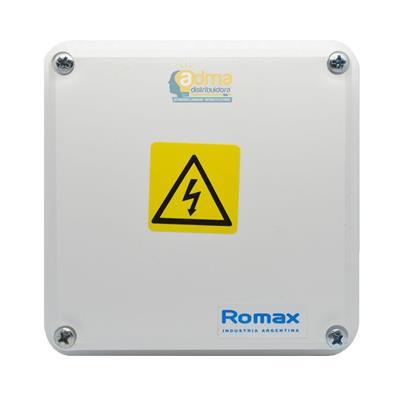 CAJA ESTANCA ROMAX 504 8X8X6