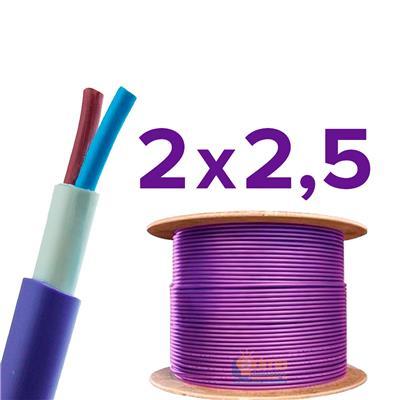CABLE SUBTERRANEO ARGENPLAS 2X2.5MM