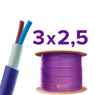 CABLE SUBTERRANEO ARGENPLAS 3X2.5MM