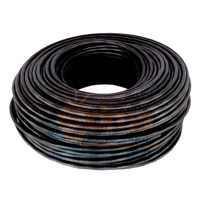 CABLE TIPO TALLER 2X1 MM NEGRO ARGENPLAS
